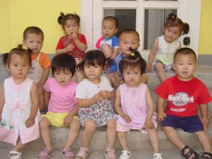 Orphans in China