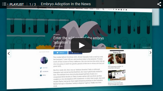 Embryo Adoption Videos