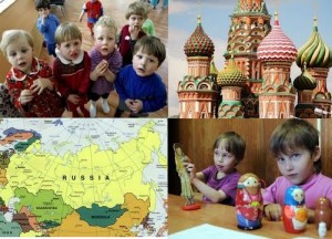 Russia Collage