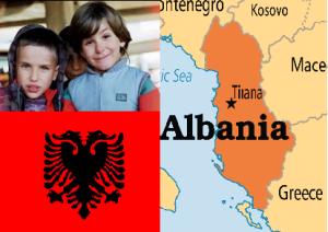 albania collage